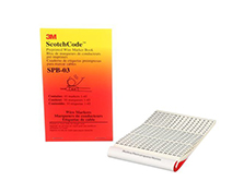 3M™ ScotchCode™ Pre-Printed Wire Marker Book, SPB-03, number 1 - 45